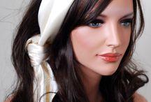 Beautifull scarfs and ways to wear them