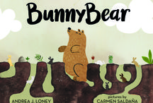 Bunnybear! / The adorable picture book BunnyBear! It's a story about a bear who really feels like he's a bunny inside. The bears don't understand him and the bunnies don't either so what is a BunnyBear to do but just be himself?