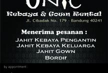 Kebaya Sewa / kebaya sewa yang kami sewakan di Onic Kebaya Gown Jl. Cibadak 179 - Bandung pin bb: 2D23814B wa : 0896.2442.6778