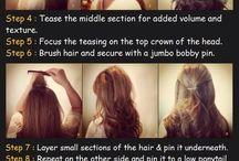 Hairstyles / by Jennifer Quach