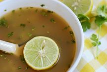 Soups and stews / Soup recipes to try