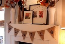 Mantel Ideas / by Virginia Kerr