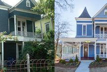 Before / After / Before/after, old houses.