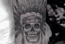 Tatuagens indígenas americanas