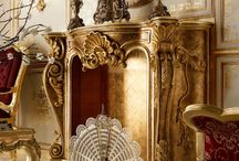 luxury showcase side tables furniture / by Coco Certified
