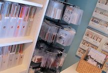 Craft Spaces / by Sarah Foster : Iris May Designs
