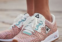 Sneakers fantaisies / Baskets colorées ou bariolés