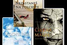 Moje knižky/My books / Séria príbehov Voľný pád.