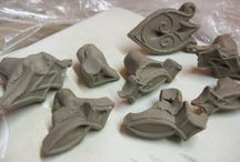 Pottery Stamps, Tools, Kilns, etc.. / Pottery stamps tools etc / by Jenni Manson