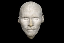 History | What They Looked Like / Life & death masks of the famous. They live on! They were real people, after all.