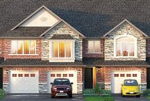 Mansion Town home design / 2 storey Town home  1770 square feet 3 or 4 Bedrooms