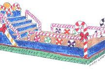 Chrimmas parade / by Elizabeth McClure
