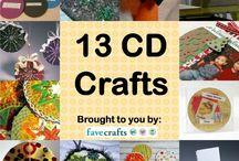 Creatief met cd's