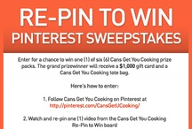 Cans Get You Cooking Pinterest Sweepstakes / by Rajee Pandi