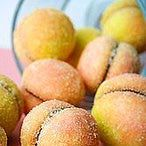 sweet dough peaches