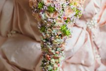 Bridal- Pink / Bridal flowers inspiration in a variation of different shades of pinks