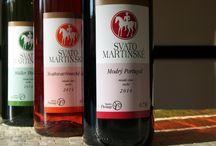 Svatomartinské víno 2014 / Svatý Martin již klepe kopytem svého koně na vrata a tak se můžeme těšit na první ochutnávky letošní sklizně. V naší nabídce máme svatomartinská vína odrudy Müller Thurgau, Svatovavřinecké rosé a Modrý Portugal z vinařství Plešingr.