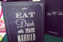 wedding bits and bobs