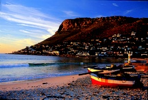 Fish Hoek Cape Peninsula / The beautiful family beach is also one of the best spots to view the Southern Right Whales  when they are in the bay to calf between July and November. September is prime whale spotting month and a great time to visit Fish Hoek if combined with the Simon's Town Penguin Festival in mid September. There is a busy main street with market stalls, a meandering path along the coastline, a fascinating museum that has information on the 12 000 year-old Fish Hoek man found at Peers Cave.