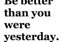 I Will Better Myself