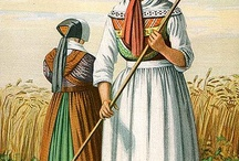Danish Folk Costume / The traditional folk dress and costume of the Danish peoples. It varies widely from one Danish community to another. Just beautiful! / by Danish Sisterhood of America