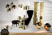 Retro and futuristic Interior Design / In ALGEDRA we provides our interior designs the latest line of luminaries, furniture and accessories to come up with perfect results
