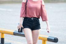 •Airport fashion:girls•