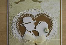 Bryllupskort / Små fugle