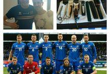 Clientes Eurocopa 2016 - Islandia / Landry Agres, acompañado de Jorge De Sancho, fueron los peluqueros de la selección de Islandia tanto en Marsella como en París.