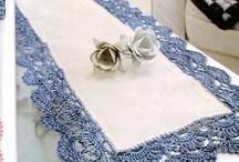Camino de mesa-crochet