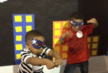 Kids party ideas boys and backdrops