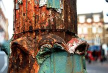 Rust / old paint