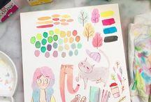 Art Tips + Inspiration