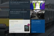 Eversholt Rail Group / This is a website we created to showcase Eversholt Rail's cutting edge new trains to a business and consumer audience. www.eversholtrail-innovations.co.uk/