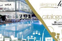 Presentazione catalogo 2015 / 28 marzo 2015 - #Allestimentilerose presso lo Yacht Club Marina di Stabia (Castellammare di Stabia -NA)