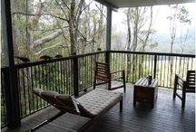 Springbrook, Queensland / The rainforest, mountains, spectacular cliffs and waterfalls at Springbrook in the Gold Coast hinterland. And also Treefern Retreat house a great place to stay.