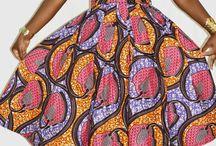 African wax klær