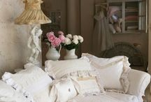 Cottage, Shabby Chic, French country