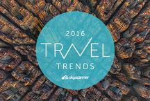 Travel Trends 2016 / These are the places that you NEED to go in 2016. / by Skyscanner