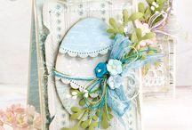 Cards scrapbooking Easter