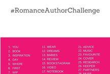 Romance Author Challenge - Instagram