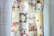 Clothes from vintage linens