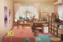 Anime rooms