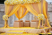 Indian Wedding Mandap / Gorgeous ideas for Indian wedding mandaps and aisles