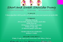 Short and Sweat 20 Minute Workouts / by Stephanie Keenan FitLife