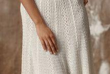 vestidos em croche