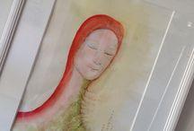 Lis1 konst / Tavlor av olika slag målade av mig