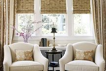 Window Treatments for Family Room / by Jen Campbell