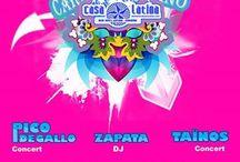 CARNAVAL a la Casa Latina (Bordeaux) et otros lugares / La vie est un grand carnaval il faut savoir faire la fiesta !!!!!!!! Savoir se moquer et se déguiser est un art de celui qui aime la vie en liberté !!!!!!!!!!