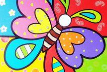 Desenhos Romero Brito